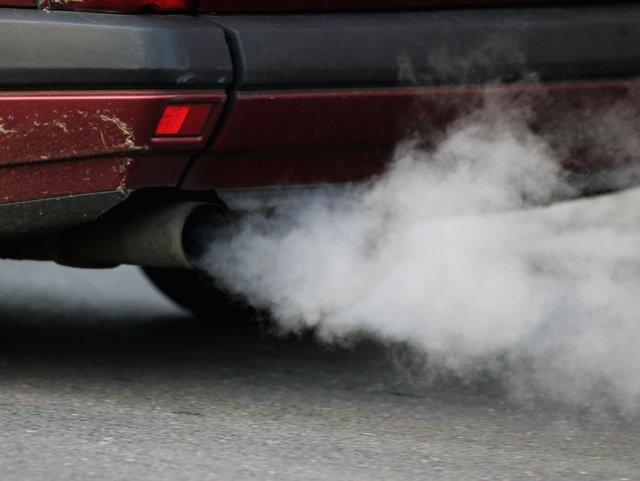 Emisiones, coche, contaminación