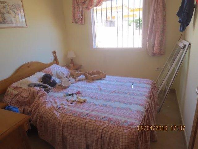 Casa robada en Matalascañas, en Almonte (Huelva).