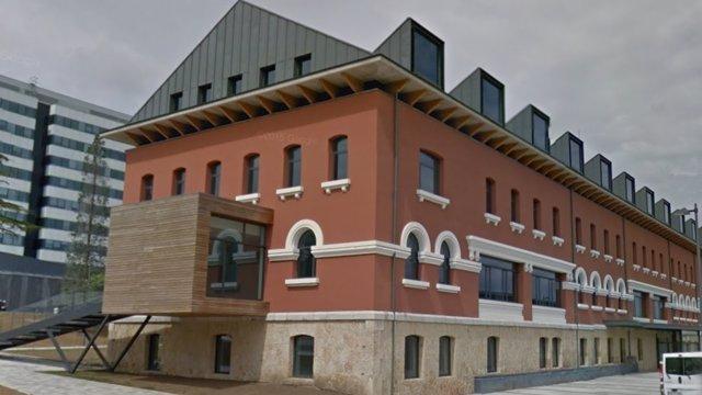 Edificio de la Finba, en el HUCA