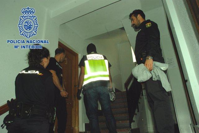 Desarticulado un punto de venta de tráfico de estupefacientes en Lorca