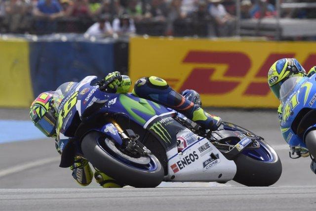 Valentino Rossi en el GP de Francia