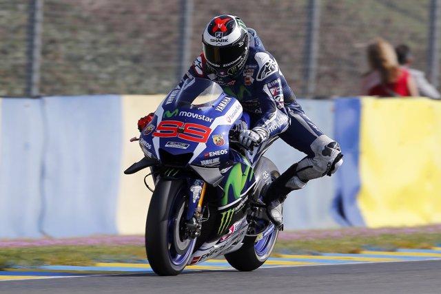 Jorge Lorenzo en el GP de Francia