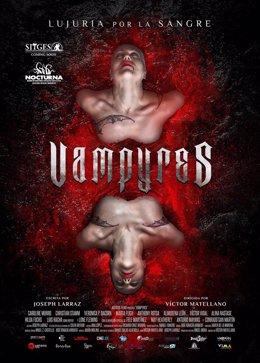 Cartel película Vampires
