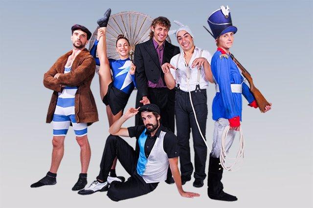 Los integrantes del espectáculo 'Suite Vivace'