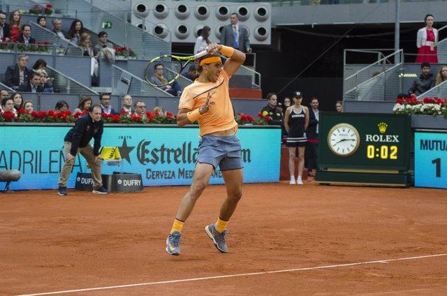 Rafael Nadal en el Mutua Madrid Open 2016