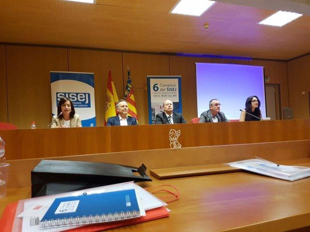 Debate sobre justicia con la participación del socialista Juan Carlos Campo