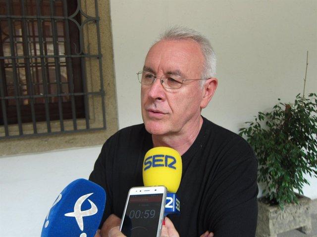Cayo Lara, coordinador federal de Izquierda Unida