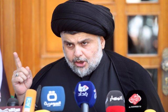 El clérigo chií, Moqtada al Sadr