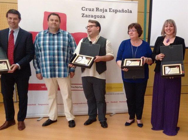 Cruz Roja Alagón entrega sus 'Reconocimientos Solidarios' a cinco entidades