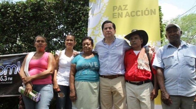 El ministro de Interior de Colombia, Juan Fernando Cristo.