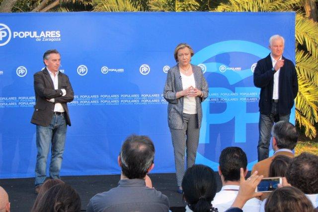 Luis María Beamonte, Fernanda Rudi Y Eloy Suárez