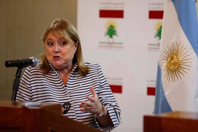 La ministra de Exteriores de Argentina, Susana Malcorra