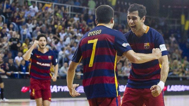 El Barcelona de fútbol sala pasa a semifinales de la LNFS