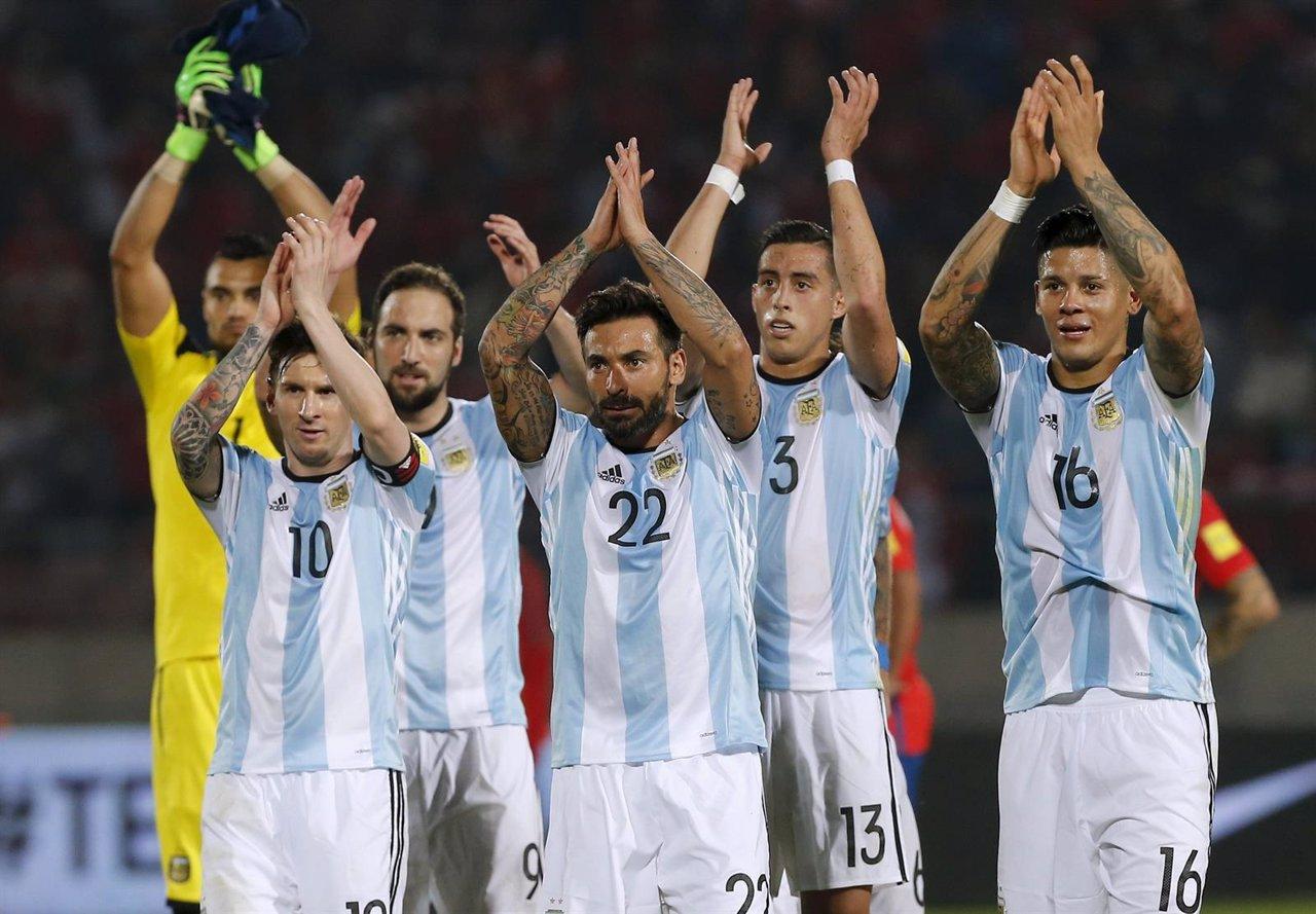 Leo Messi Chile Argentina