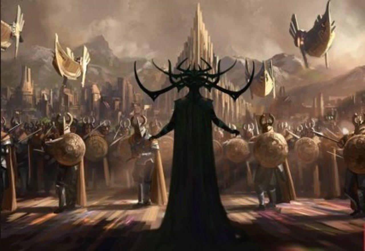 Arte conceptual de Thor: Ragnarok
