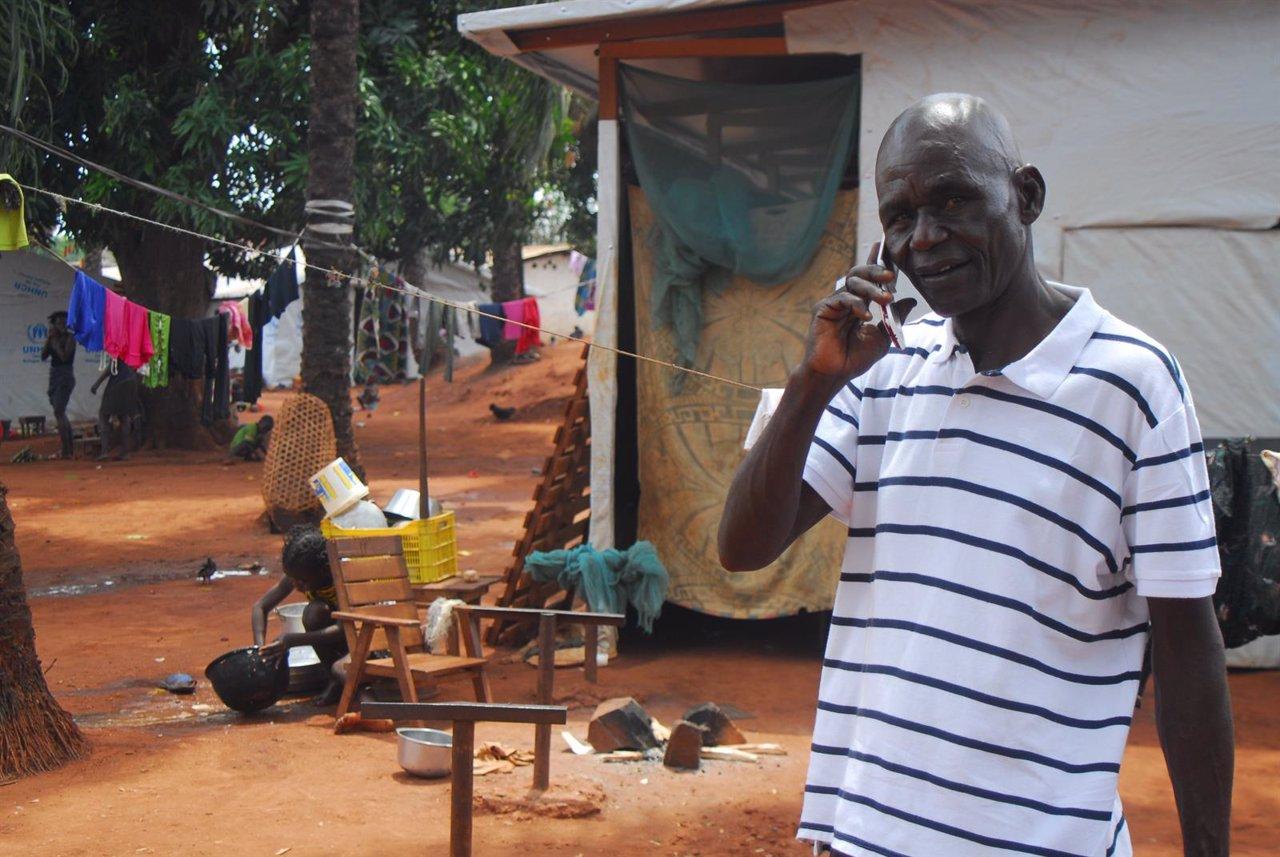 Damnificado por el conflicto en República Centroafricana