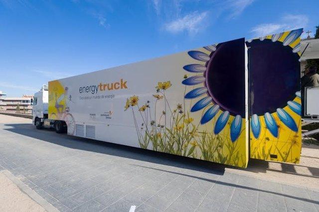 Un camión acoge la exposición