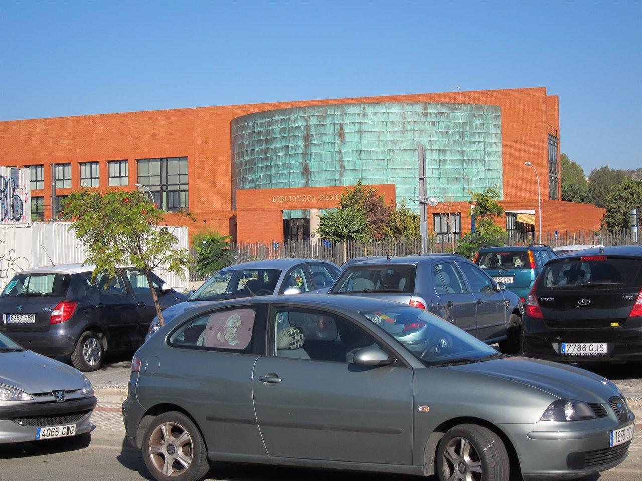 UMA, Universidad, Facultad, biblioteca general, Aparcamiento,