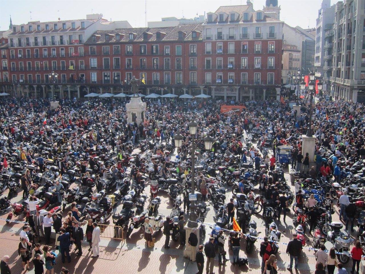 Manifestación en Valladolid en octubre de 2014