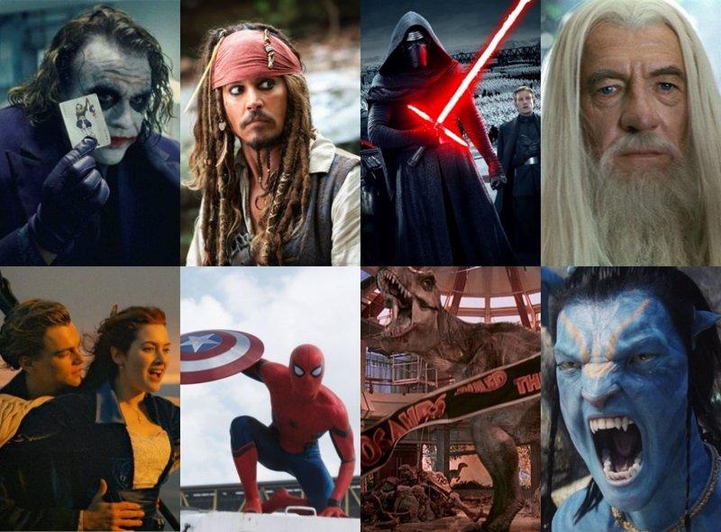 Las 25 películas que han recaudado más de 1.000 millones de dólares