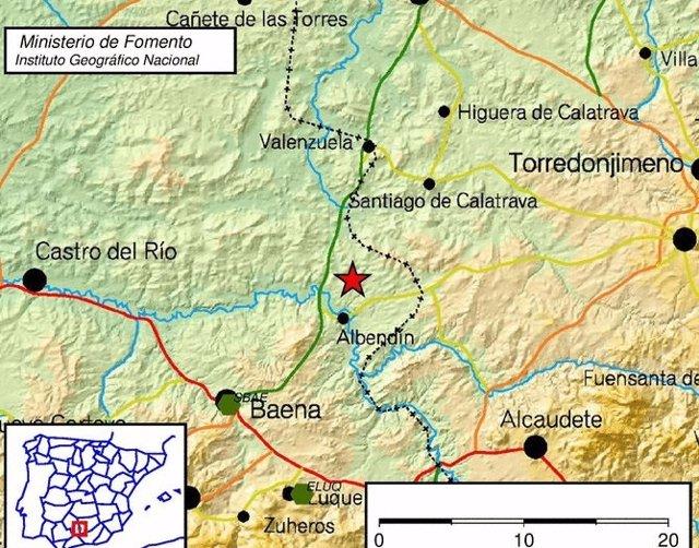 Registrado terremoto al sur de Valenzuela (Córdoba)
