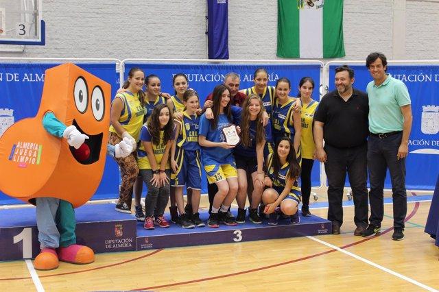 Juegos Deportivos Provinciales de baloncesto en Almería