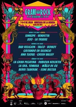 Cartel festival GraniRock