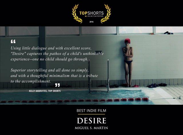 El corto 'Deseo' suma un nuevo premio