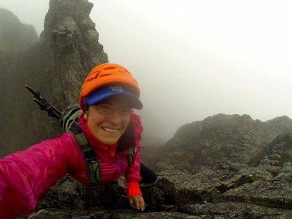 Carla Pérez, la primera mujer ecuatoriana en coronar el Everest