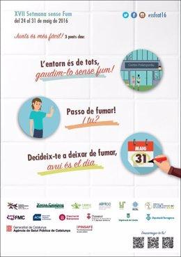 Cartel de la 'Setmana Sense Fum'