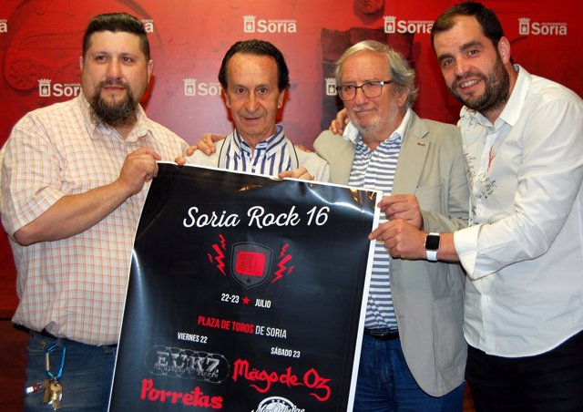 Presentación de Soria Rock