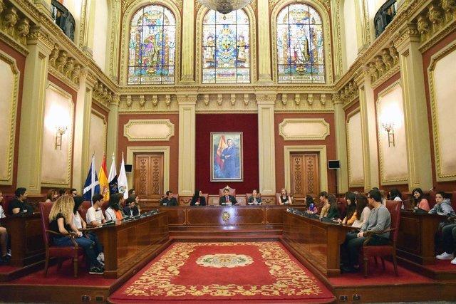 Celebración del Pleno juvenil