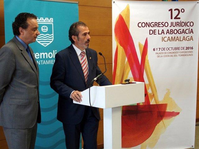 Ortiz y Lara presentan el 12 Congreso Jurídico de la Abogacía en Torremolinos