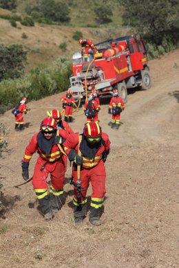 La UME se prepara en Cerro Muriano