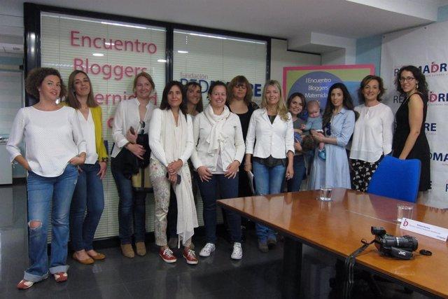 Madres blogueras en la Fundación Red Madre
