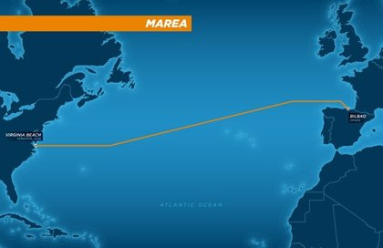 Facebook y Microsoft desplegarán un cable submarino entre España y EEUU operado por Telxius (Telefónica)
