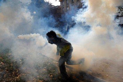 Chile.- Nuevos enfrentamientos en Santiago por una frustrada marcha estudiantil