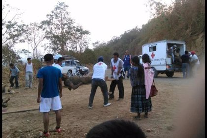Una decena de muertos tras volcar un camión en Guatemala
