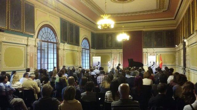 Concierto del I Ciclo de Música con Juventud en el Museo Diocesano de Zaragoza