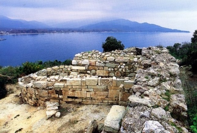 Posible tumba de Aristóteles