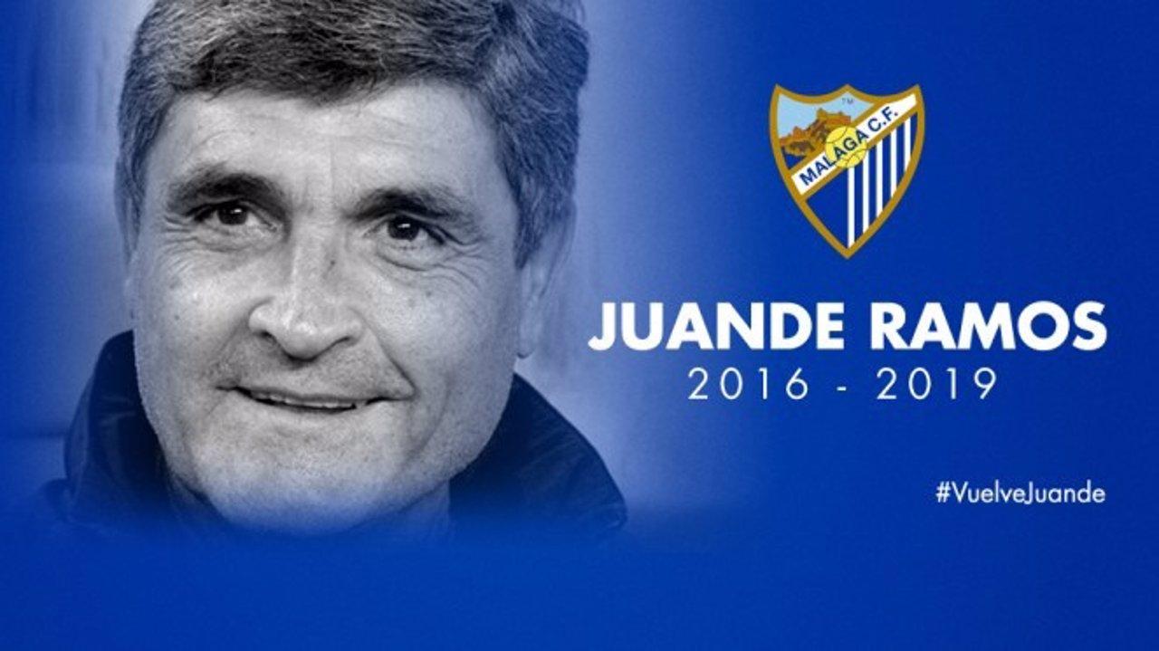 Juande Ramos vuelve al Málaga