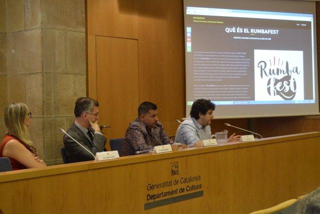 Los responsables del nuevo festival de rumba catalana