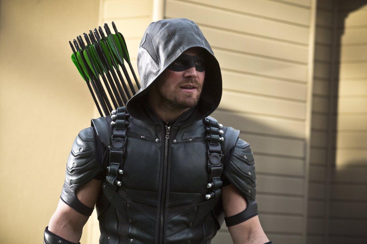 Stephen Amel es Oliver Queen en Arrow