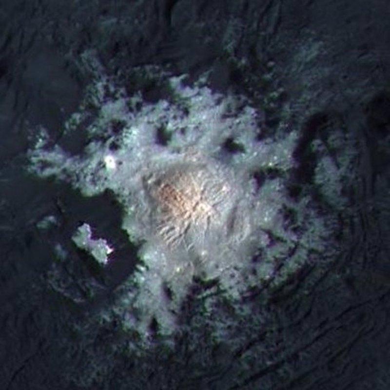 Cambios en los puntos brillantes de Ceres pueden indicar vida