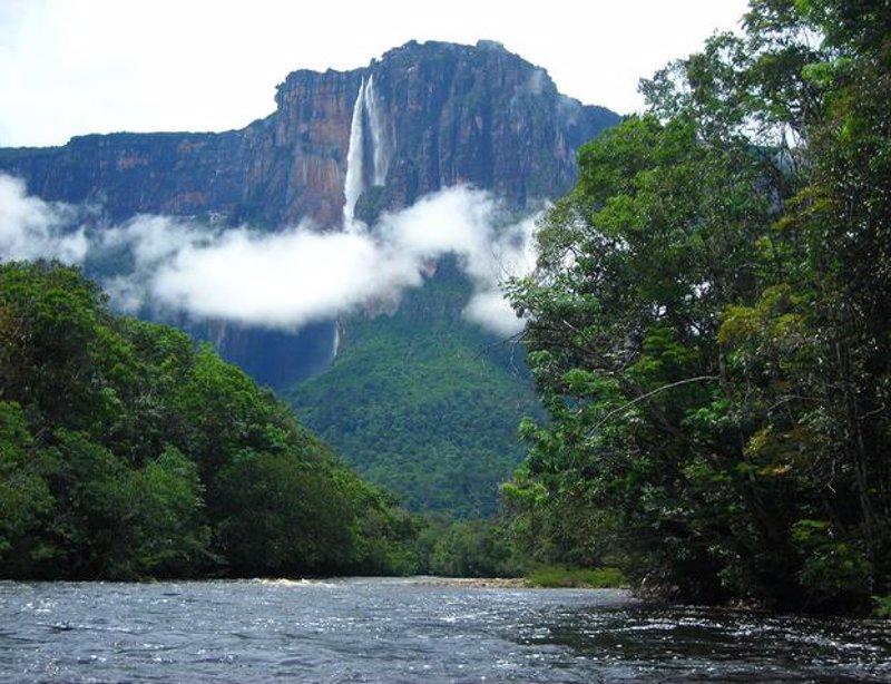 El Salto del Ángel: la catarata más alta del mundo en el corazón de Venezuela