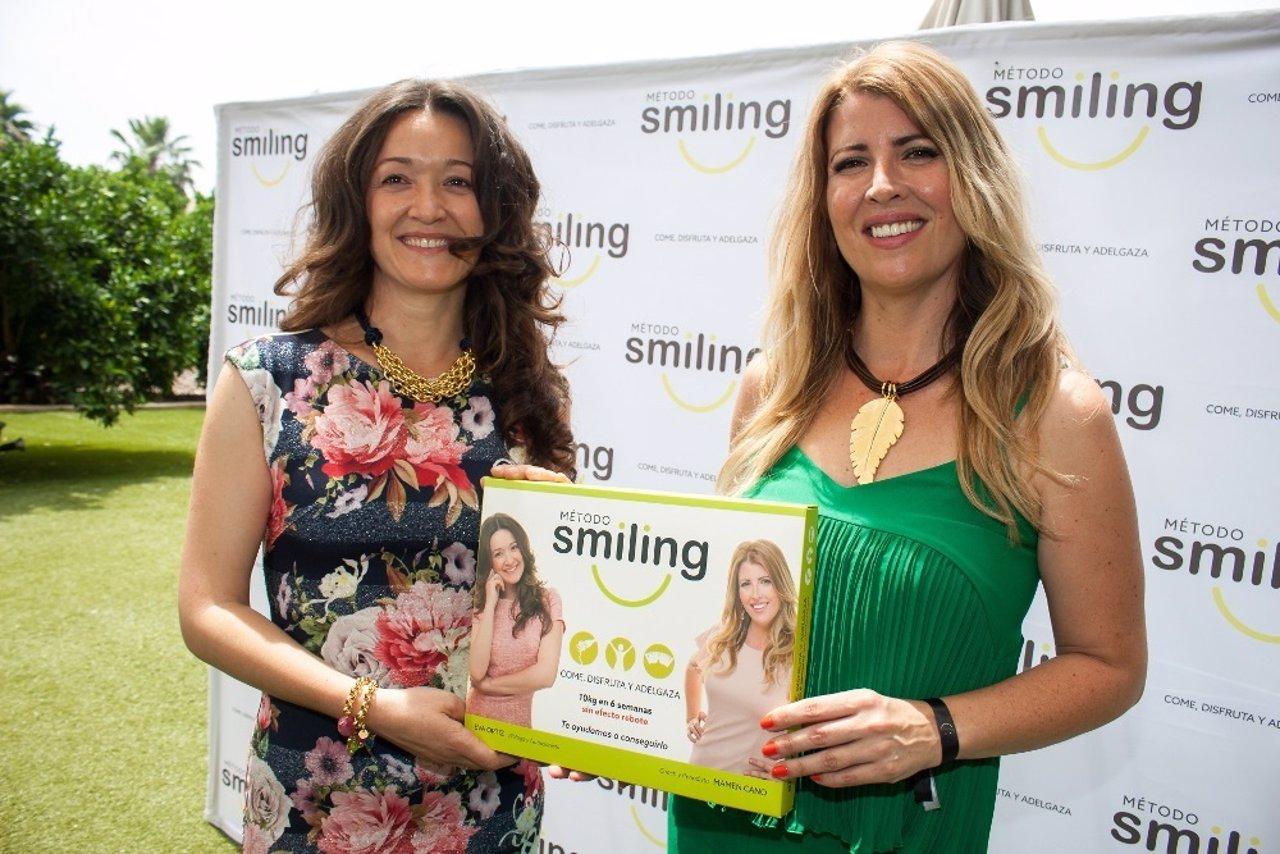 Las empresarias murcianas Eva Ortíz, experta en nutrición, y Mamen Cano