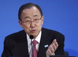 Ban Ki Moon condena la muerte de cinco 'cascos azules' en Malí