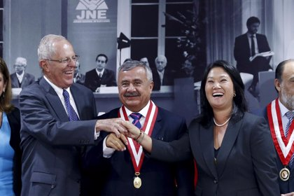 Fujimori y Kuczynski protagonizan su último debate televisado antes de las presidenciales