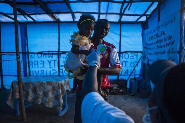 Centro de tratamiento ébola Sierra Leona