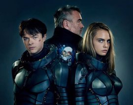 Nuevas imágenes del rodaje de Valerian, con Cara Delevingne y Dane DeHaan